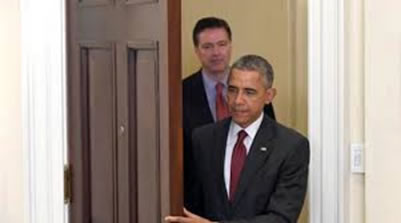 Obama and Comey