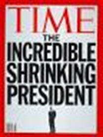 time incred shrinking president